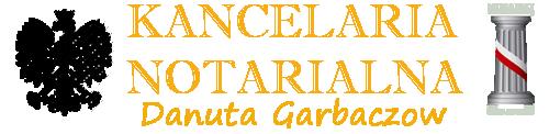 NOTARIUSZ DANUTA GARBACZOW | KANCELARIA NOTARIALNA